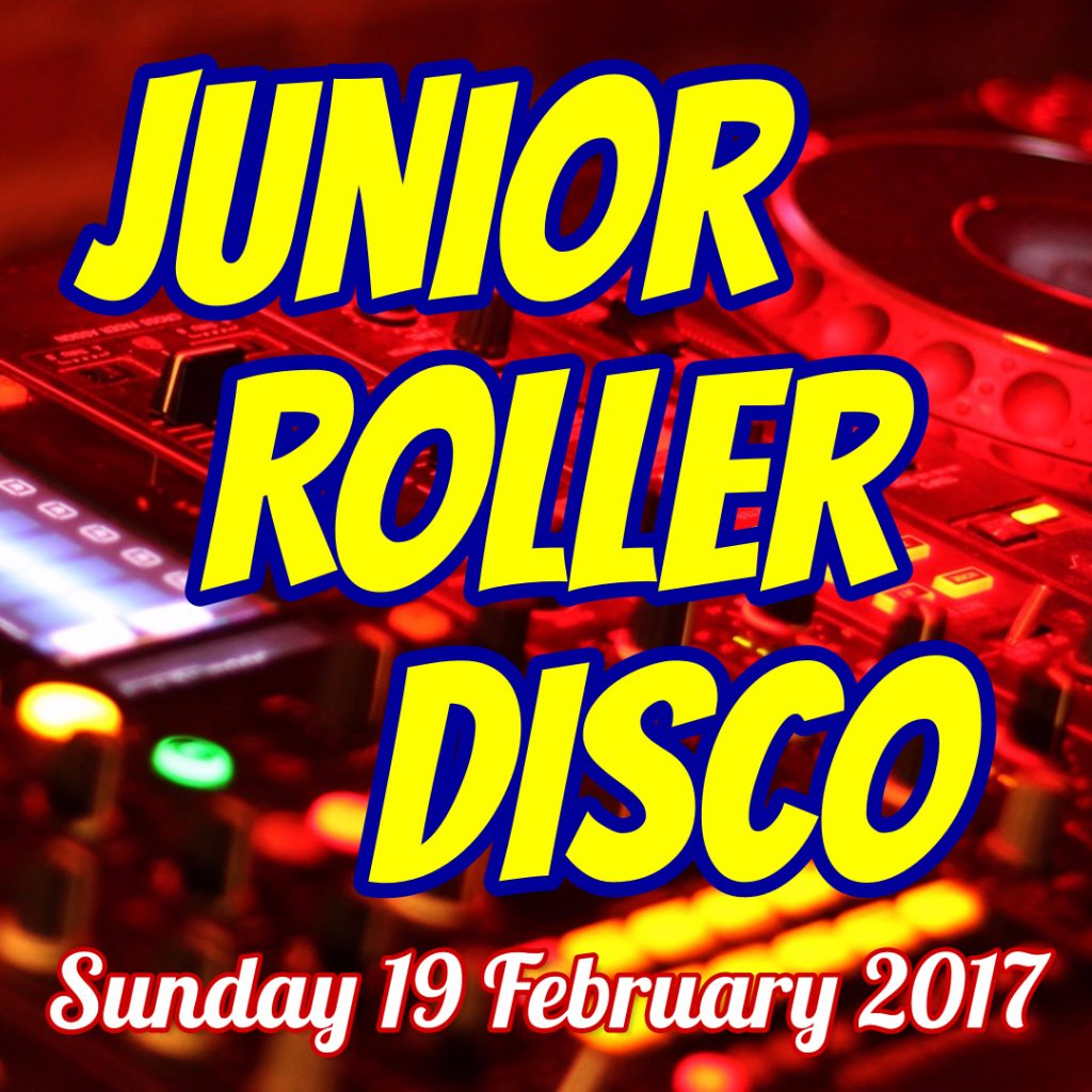 QVH Junior Roller Disco header Sunday 19 February 2017